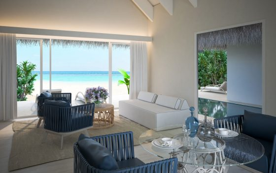 Pool Suite Beach Villa