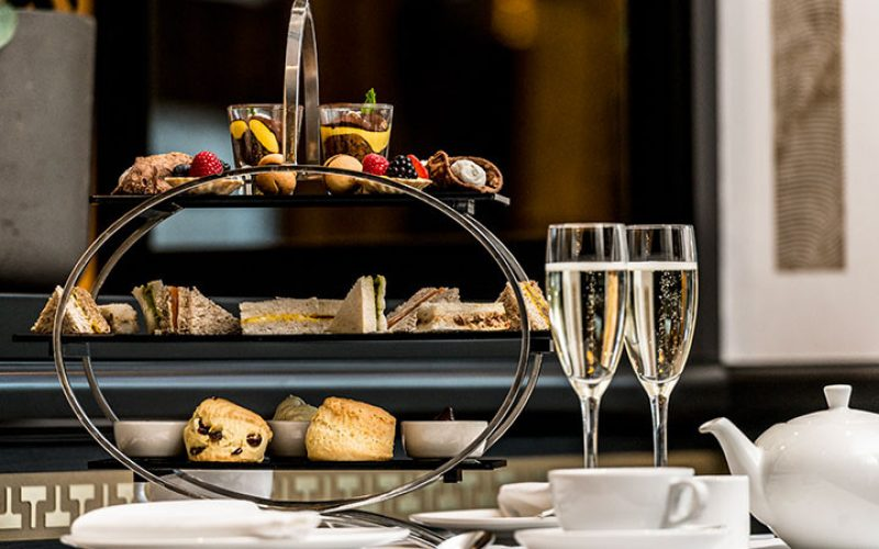 The very English ritual of afternoon tea meets the flavours of Italy.